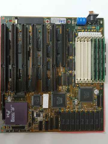 486er Shuttle Hot Board 25-66mhz mit Intel 80486 SX 25